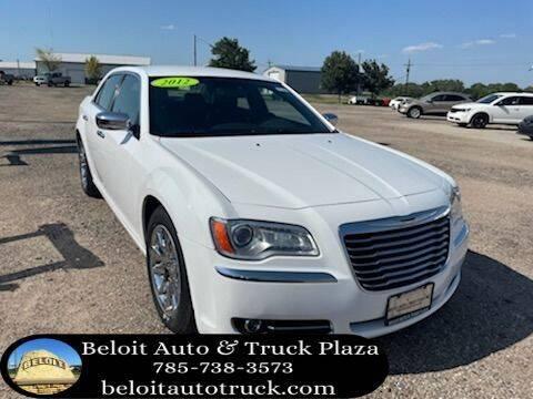 2012 Chrysler 300 for sale at BELOIT AUTO & TRUCK PLAZA INC in Beloit KS