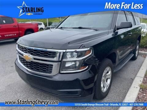 2018 Chevrolet Tahoe for sale at Pedro @ Starling Chevrolet in Orlando FL