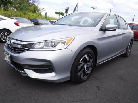 2016 Honda Accord for sale at PONO'S USED CARS in Hilo HI