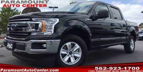 2020 Ford F-150 for sale at PARAMOUNT AUTO CENTER in Downey CA