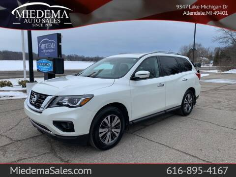 2017 Nissan Pathfinder for sale at Miedema Auto Sales in Allendale MI