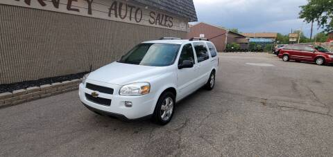 2008 Chevrolet Uplander for sale at Harvey Auto Sales, LLC. in Flint MI