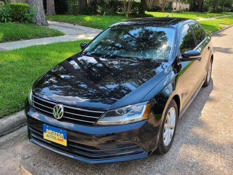 2017 Volkswagen Jetta for sale at Amazon Autos in Houston TX