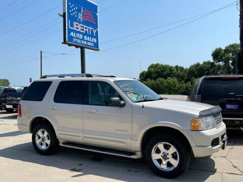 2005 Ford Explorer for sale at Liberty Auto Sales in Merrill IA