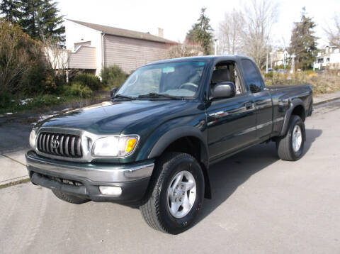 2001 Toyota Tacoma for sale at Eastside Motor Company in Kirkland WA