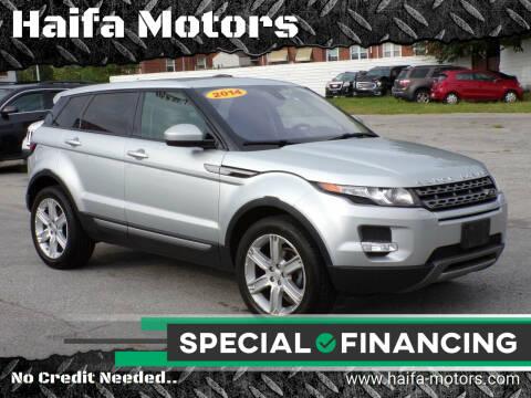 2014 Land Rover Range Rover Evoque for sale at Haifa Motors in Philadelphia PA