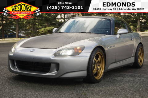 2005 Honda S2000 for sale at West Coast Auto Works in Edmonds WA
