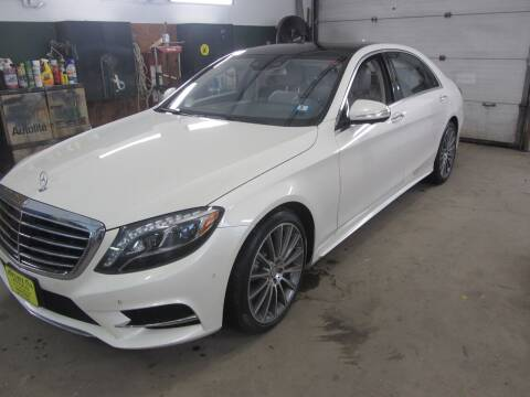 2016 Mercedes-Benz S-Class for sale at Jons Route 114 Auto Sales in New Boston NH