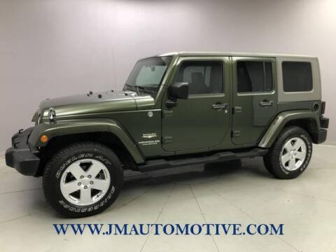 2007 Jeep Wrangler Unlimited for sale at J & M Automotive in Naugatuck CT