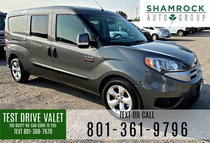 2016 RAM ProMaster City Cargo for sale at Shamrock Group LLC #1 in Pleasant Grove UT