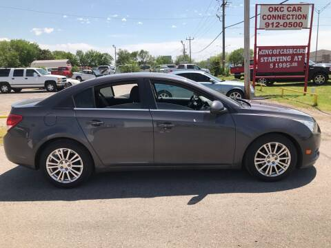 2011 Chevrolet Cruze for sale at OKC CAR CONNECTION in Oklahoma City OK
