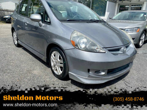 2008 Honda Fit for sale at Sheldon Motors in Tampa FL
