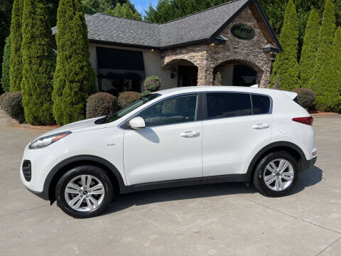 2017 Kia Sportage for sale at Hoyle Auto Sales in Taylorsville NC