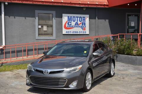 2013 Toyota Avalon for sale at Motor Car Concepts II - Kirkman Location in Orlando FL