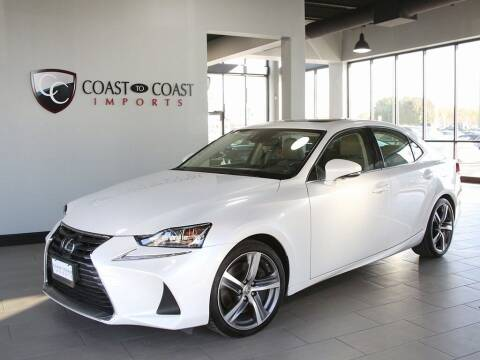2017 Lexus IS 300 for sale at Coast to Coast Imports in Fishers IN