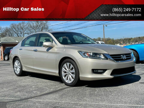 2014 Honda Accord for sale at Hilltop Car Sales in Knox TN
