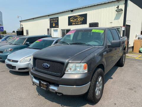 2005 Ford F-150 for sale at BELOW BOOK AUTO SALES in Idaho Falls ID