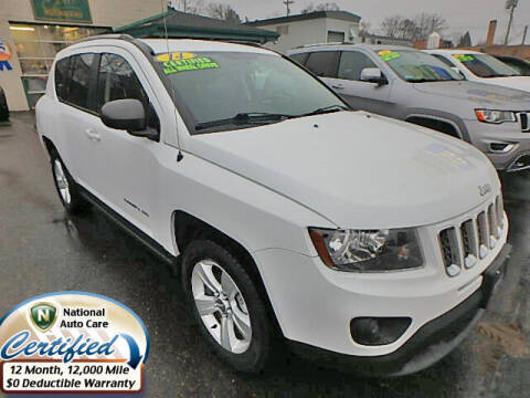 2014 Jeep Compass for sale at Jon's Auto in Marquette MI