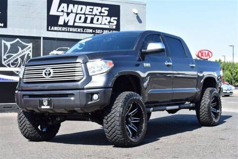 2017 Toyota Tundra for sale at Landers Motors in Gresham OR