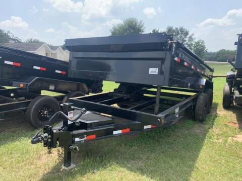 2022 Iron Bull DTB8316 83X16 DUMP 14K for sale at The Trailer Lot in Hallettsville TX