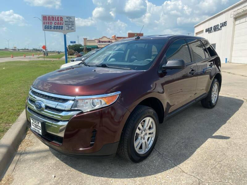 2012 Ford Edge for sale at MARLER USED CARS in Gainesville TX