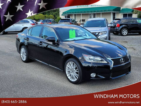2013 Lexus GS 350 for sale at Windham Motors in Florence SC