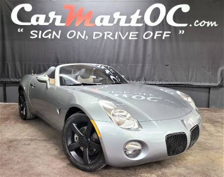 2006 Pontiac Solstice for sale at CarMart OC in Costa Mesa, Orange County CA