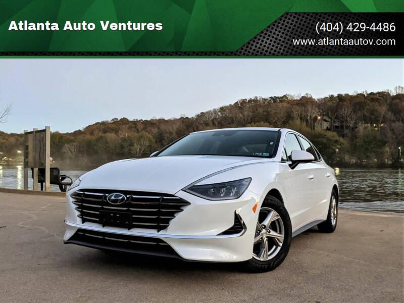 2021 Hyundai Sonata for sale at Atlanta Auto Ventures in Roswell GA