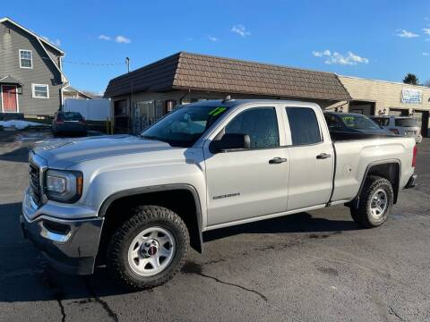 2017 GMC Sierra 1500 for sale at MAGNUM MOTORS in Reedsville PA