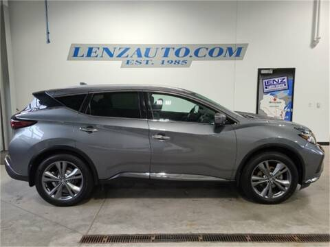 2020 Nissan Murano for sale at LENZ TRUCK CENTER in Fond Du Lac WI