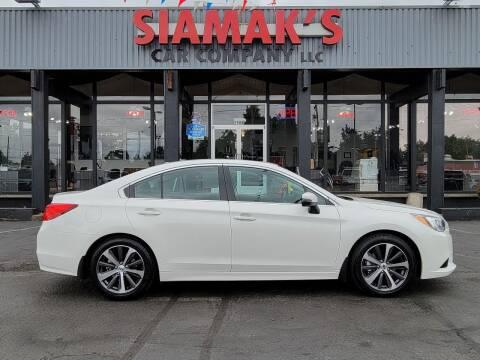 2015 Subaru Legacy for sale at Siamak's Car Company llc in Salem OR