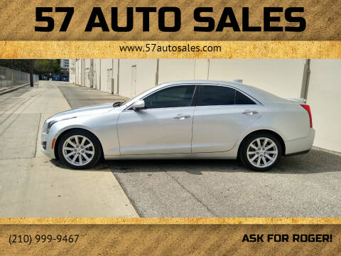 2017 Cadillac ATS for sale at 57 Auto Sales in San Antonio TX
