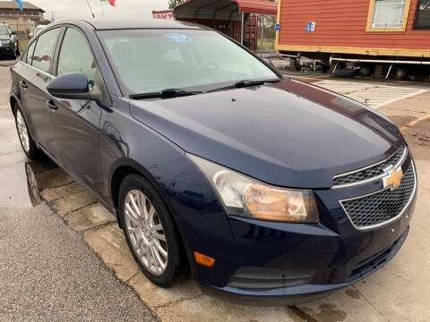 2011 Chevrolet Cruze for sale at JAVY AUTO SALES in Houston TX