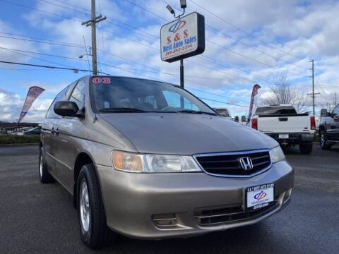 2003 Honda Odyssey for sale at S&S Best Auto Sales LLC in Auburn WA