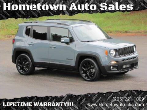 2018 Jeep Renegade for sale at Hometown Auto Sales - SUVS in Jasper AL