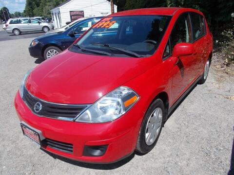 2012 Nissan Versa for sale at Dansville Radiator in Dansville NY