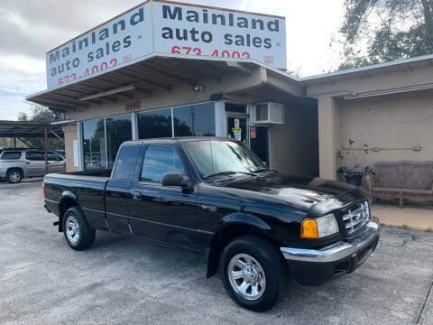 2003 Ford Ranger for sale at Mainland Auto Sales Inc in Daytona Beach FL