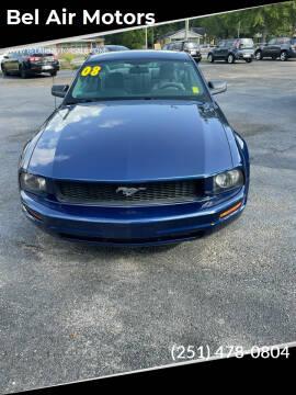 2008 Ford Mustang for sale at Bel Air Motors in Mobile AL