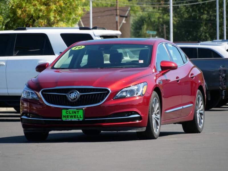 2019 Buick LaCrosse for sale at CLINT NEWELL USED CARS in Roseburg OR