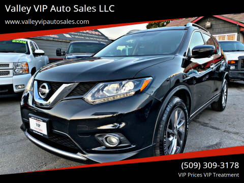 2016 Nissan Rogue for sale at Valley VIP Auto Sales LLC in Spokane Valley WA