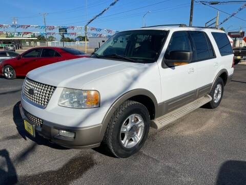 2004 Ford Expedition for sale at Rock Motors LLC in Victoria TX