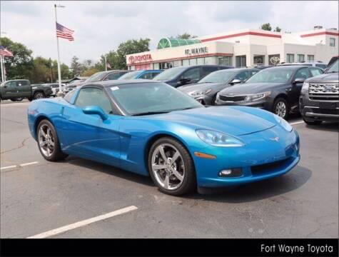2009 Chevrolet Corvette for sale at BOB ROHRMAN FORT WAYNE TOYOTA in Fort Wayne IN