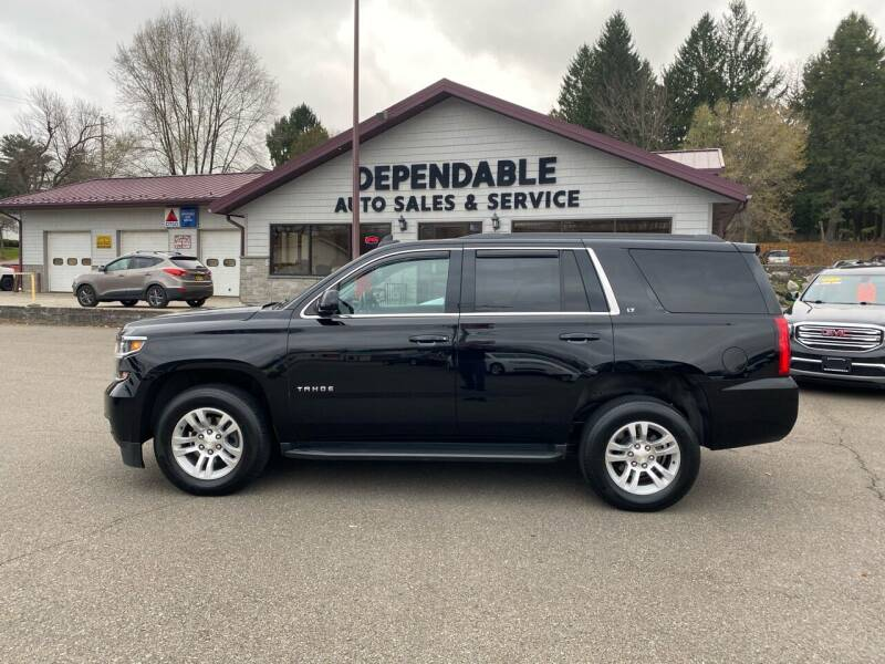 2017 Chevrolet Tahoe for sale at Dependable Auto Sales and Service in Binghamton NY