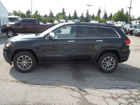 2015 Jeep Grand Cherokee for sale at Rt. 44 Auto Sales in Chardon OH