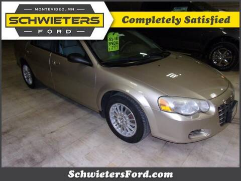 2005 Chrysler Sebring for sale at Schwieters Ford of Montevideo in Montevideo MN