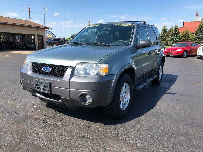 2006 Ford Escape for sale at Mike's Budget Auto Sales in Cadillac MI