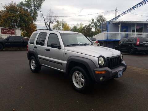 2002 Jeep Liberty for sale at City Center Cars and Trucks in Roseburg OR