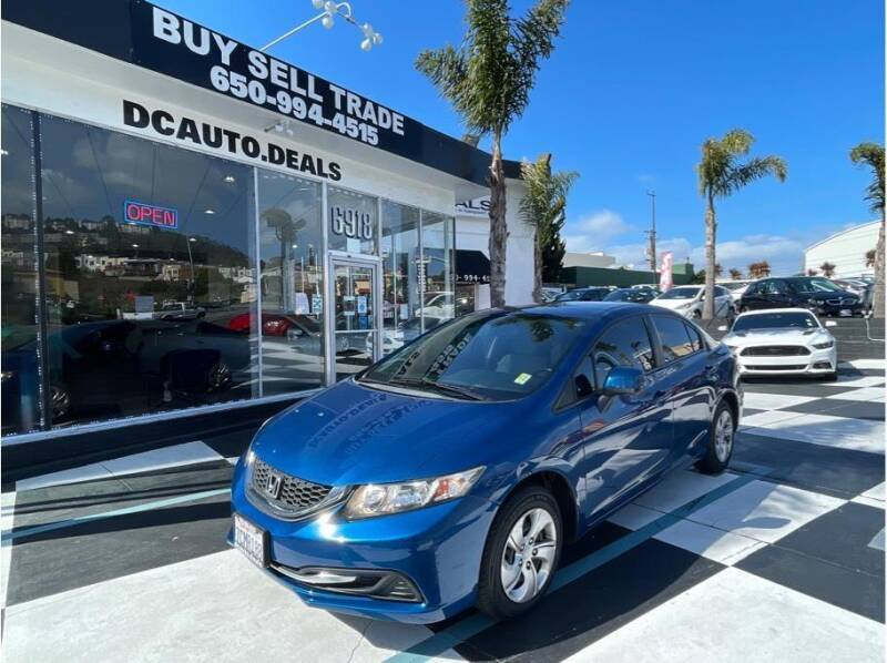 2013 Honda Civic for sale at AutoDeals in Daly City CA