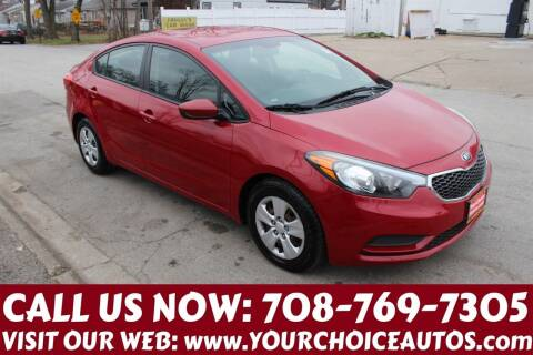 2016 Kia Forte for sale at Your Choice Autos in Posen IL