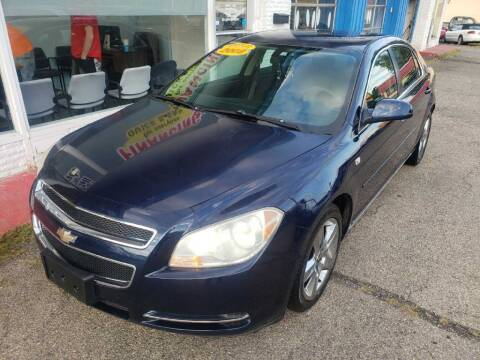 2008 Chevrolet Malibu for sale at AutoMotion Sales in Franklin OH